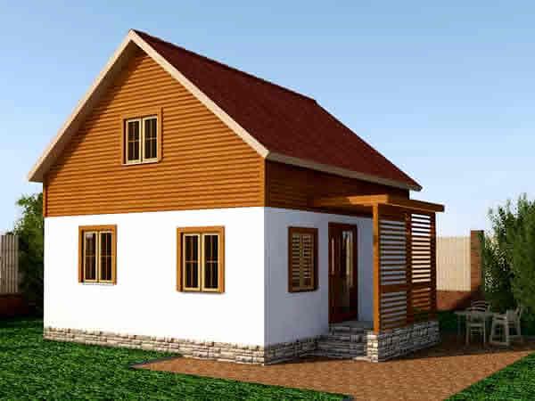 Готовые проекты домов и коттеджей для строительства